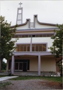 27 Izgled crkve nakon stavljanja krova i napravljenih zabata