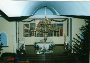 41 Unutrašnjost crkve nakon uređenja - 1996.godina