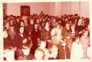 5 Dio vjernog naroda za vrijeme sv.Mise 14.11.1978.