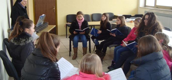 Proba malog pjevačkog zbora
