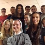 Zbor mladih na gostovanju u Cerni
