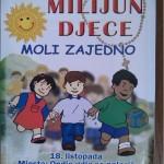 Milijun djece moli zajedno (18.10.2015.)